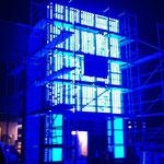 Montage Lichtwerbung Objektdesign