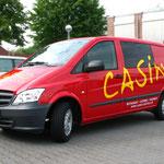 Fahrzeugbeschriftung Casino Coesfeld Restaurant Catering Service