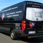 Fahrzeugbeschriftung D. & H. Lukowski GmbH