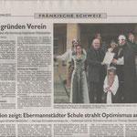 Nordbayerische Nachrichten von 16.11.2012