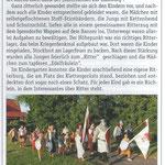 Artikel Wochenblatt 31.07.2013