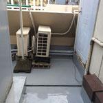千代田区 商業ビル 屋上防水 ウレタントップコート
