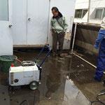 千代田区 商業ビル 屋上防水下地洗浄