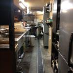 鍋割烹空き地の厨房