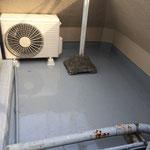 千代田区 商業ビル 屋上防水 ウレタン主剤塗布