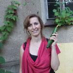 unsere erfolgreiche Züchterin und Gurkenkönigin des Abends, Reclamstraße 51
