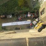 ...von oben gesehen, Reclam 51, Stoppt Entmietung, Leipziger Osten, Sachsen