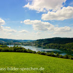 Drolshagen - Blick auf die Listertalsperre