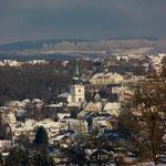 Kierspe - Blick auf die Margarethen-Kirche