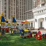 ЖК Триумф Палас - детская площадка.