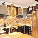 ул. Пырьева дом 9 - аренда квартиры, кухня.