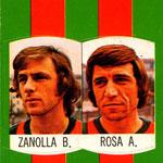 1977-78. Figurine Lampo. Zanolla-Rosa