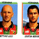 1999-00. Figurine Panini. Lucci-Servidei