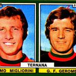 1970-71. Figurine Edis: Migliorini-Geromel