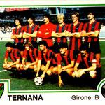 1980-81. Figurine Panini. Squadra