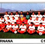 1989-90. Figurine Panini. Squadra