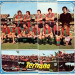 1974-75. Figurine Panini. Squadra