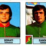 1975-76. Figurine Panini. Donati-Zanolla