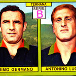 1968-69. Figurina  Panini. Germano-Lugarà
