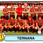 1981-82. Figurine Panini. Squadra