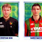 1998-99. Figurine CALCIO MERLIN. Bini-Baccin
