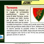 1992-93. Figurine Score. Scudetto