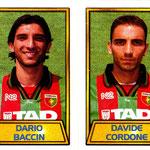 1999-00. Figurine CALCIO MERLIN. Baccin-Cordone