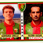 1992-93. Figurine Panini. Cinello-Gazzani