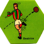 1972-73. Figurine EDISPORT. Beatrice