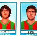 1973-'74. Figurine Panini. Agretti-Rossi