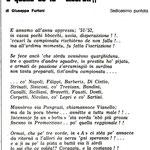 1978-79. Poesia di Giuseppe Furiani (sedicesima puntata)