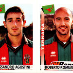 2000-01. Figurine Panini. Agostini-Romualdi