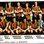 1977-78. Figurine Edis. Squadra