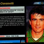 1992-93. Figurine Score Gold. Caramelli (lato 2)