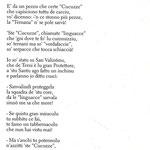 """1975. Poesia di Otello Aquili (Lello de Menicandò) (dal libro ''NA CORVA DE RIME"""")"""
