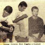 Saracca, Carmassi, Ricci, Padalino, Gualandi