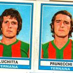 1973-'74. Figurine Panini. Luchitta-Prunecchi
