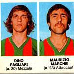 1977-78. Figurine Crema. Pagliari-Marchei
