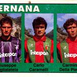 1992-93. Figurine Euroflash. Taglialatela-Caramelli-Della Pietra