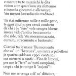 """Anno: ??? Poesia di Otello Aquili (Lello de Menicandò) (dal libro ''NA CORVA DE RIME"""")"""