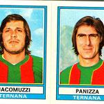 1973-'74. Figurine Panini. Jacomuzzi-Panizza