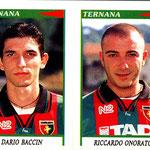 1998-99. Figurine Panini. Baccin-Onorato