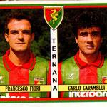 1992-93. Figurine Panini. Fiori-Caramelli
