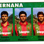 1992-93. Figurine Euroflash. Tovalieri-Maiellaro-Negri