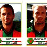 2001-02. Figurine Panini. Gallo-Dell'Anno