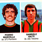1977-78. Figurine Crema. Mascella-Rosa