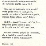 """1969-10-22. Poesia di Antonio Pecorelli (dal libro ''221 SONETTI"""")"""