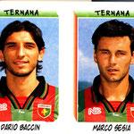 1999-00. Figurine Panini. Baccin-Sesia