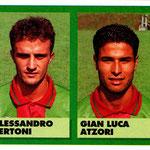 1992-93. Figurine Vallardi. Bertoni-Atzori