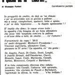 1978-79. Poesia di Giuseppe Furiani (quindicesima puntata)